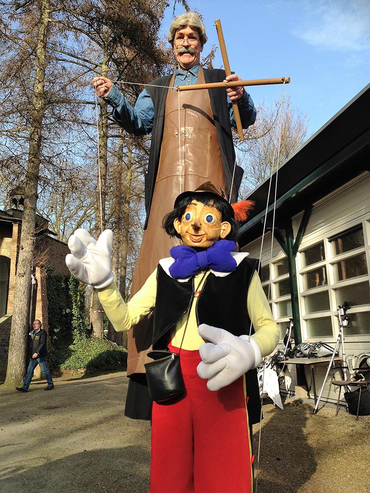Pinokkio Gepetto Kleinkunstfestival Esens